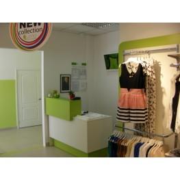 Дизайн торговой мебели и магазина
