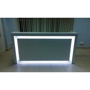 Ресепшн со светодиодной подсветкой РП-ДМБ-031