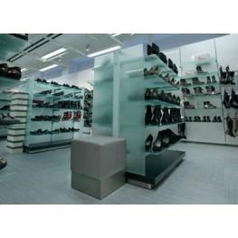 Торговая мебель для магазина обуви МТД-41 Мебель торговая на заказ в Киеве и по всей Украине