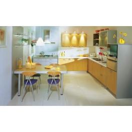 Кухня для помещения с нишами и выступами МДК-64 Кухни на заказ в Киеве