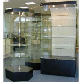 Витрина, торговая, прилавок, стекла, мебель, заказ, Стеклянная витрина, стеклянная витрина Киев,