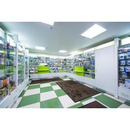 Мебель для аптек, Аптечная, мебель, Витрины, кассовые секции, светозащишенные шкафы, на заказ