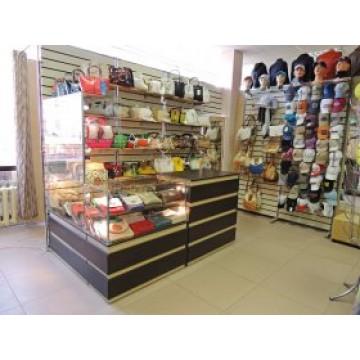 Витрины и прилавки для магазинов на заказ в Киеве и по Украине