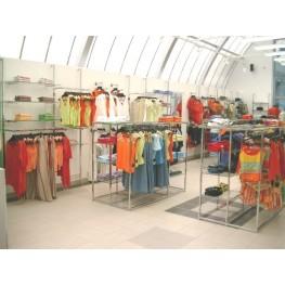 Торговое, обрудование, хром, труб, Мебель, магазина, одежды, Джокер, киев, Торговая мебель, Киев,