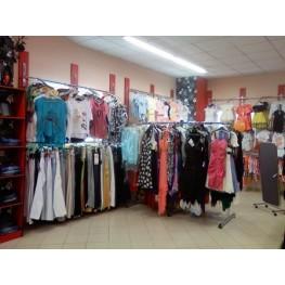 Хром трубы для магазина одежды МТТ-4 Изготовление торговой мебели на заказ в Киеве, Киевской области, Суммы, Бровары, Буча, Ирпень