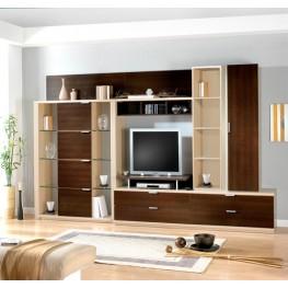 Небольшая, Удобная, стенка в зал, Мебель для дома, на заказ, Киев,