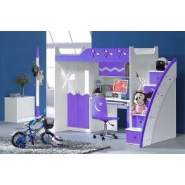 Мебель в детскую комнату: экономим пространство