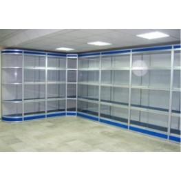 Торговое оборудование из алюминиевого профиля под заказ в Киеве и по всей Украине