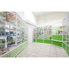 Аптека из алюминевого профиля МТА-49 Киев, Винница, Львов, Ивано Франковск, Суммы.