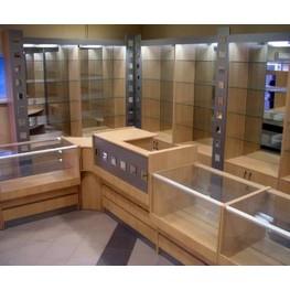 Прилавки и витрины из ДСП с зеркалом МТД-45 На заказ Киев, Одесса, Николаев