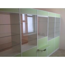 Эконом мебель для аптеки МТД-43 Торговая мебель на заказ в Киеве и по всей Украине