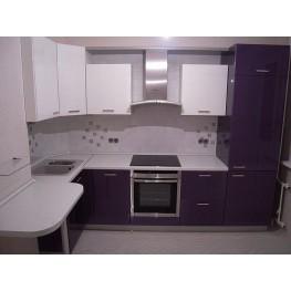 Кухня из МДФ МДК-68 Встроенные угловые кухни на заказ в Киеве