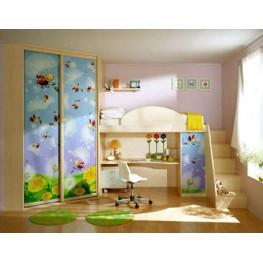 Детская мебель в комнату МДД-66 Детские комнаты на заказ в Киеве и по всей Украине