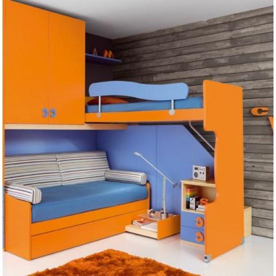 Купить Двухъярусную Кровать С Диваном Санкт-Петербург