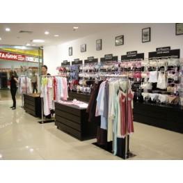 Торговая мебель в магазин нижнего белья мтэ-45 Торговое оборудование для магазинов одежды в Киеве, Львове, Суммах, Чернигове и Ивано Франковске