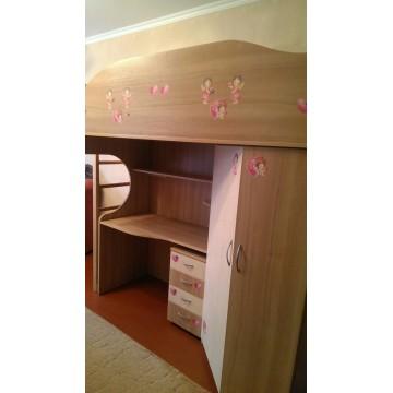 Детска двух этажная кровать