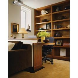 Мебель в кабинет на заказ МО-28 Офисная мебель столы и шкафы индивидуальное изготовление в Киеве