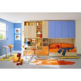 Детская мебель в комната МДД-68 Детская мебель на заказ в Киеве и по всей Украине