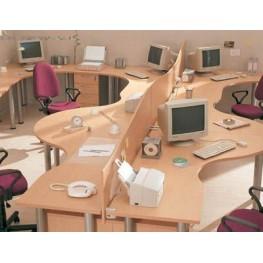 Стол офисный для персонала МО-23 Офисная мебель на заказ