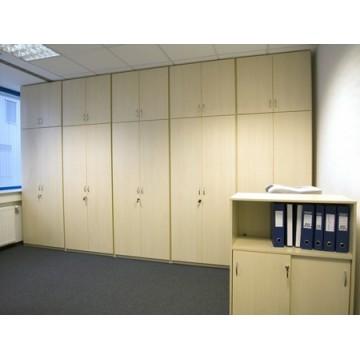 Шкаф офисный для архива, бухгалтерии, банка с замком, МОШ-50 Мебель для офиса индивидуально в Киеве