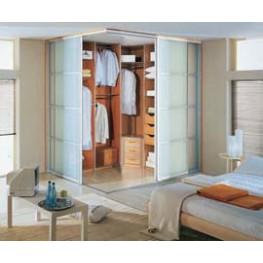 Встроенная гардеробная комната МДГ-67 Гардеробная и шкаф-купе на заказ