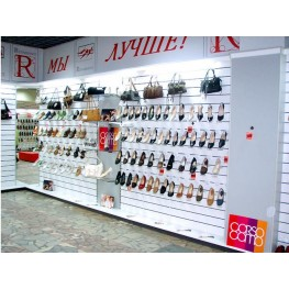 Эконом панели в магазин женской обуви МТЭ-32 Торговое оборудование в Киеве