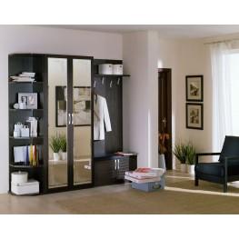 Мебель в прихожую с зеркальными дверями МДП-51 Прихожие для хрущевок и небольших квартир в Киеве